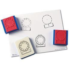 시계 도장 Digital/Analog Clock Stamp