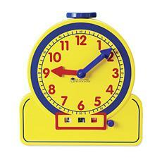 시간 학습기 대형 - 24시간 Primary Time Teacher™ 24-Hour Learning Clock®