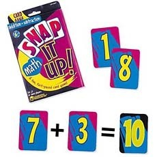 스냅 잇 업 카드 게임) 덧셈 & 뺄셈 Snap It Up!® Card Games Math - Addition & Subtraction