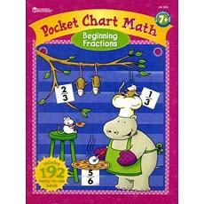 수학 포켓차트 북- 분수 기초 Pocket Chart Math Book - Beginning Fractions