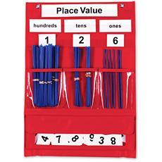 자릿수 익힘 포켓 차트 Counting & Place Value Pocket Chart