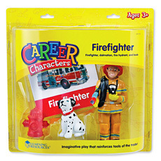 역할인형 - 소방관 Career Characters - Firefighter