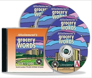 Grocery Words Software
