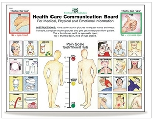 Health Care Communication Board Tablets