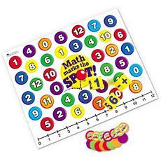 깡총 수학 게임판 Math Marks the Spot! A Math Floor Game