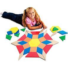 대형 패턴블록 Giant Foam Floor Pattern Blocks